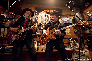 GRETSCH BROTHERS LIVE in 小田原